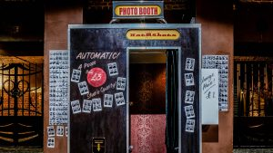 Traditional and vintage Photo Booth