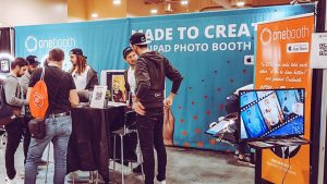 Onebooth at the Photo Booth Expo in Las Vegas
