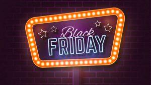 Black Friday Neon Sign