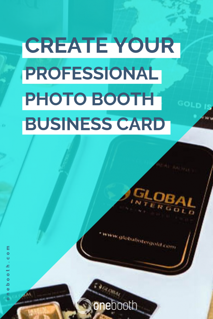 create your professional photo booth business card